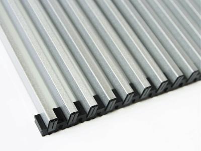 решетка конвектора эффект металлика
