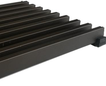 решетка темная бронза конвектора
